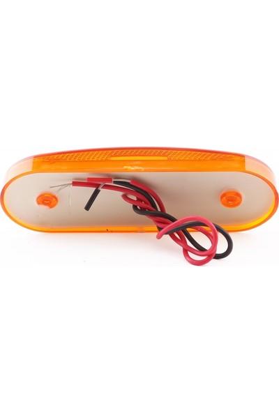 Ledshop 20'li LED Side Marker Lamba 12 - 24 V Sarı 2 Adet