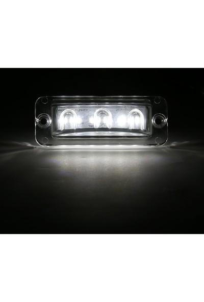 Ledshop Mercedes Travego Plaka Lamba 6'lı LED 24 V 2 Adet
