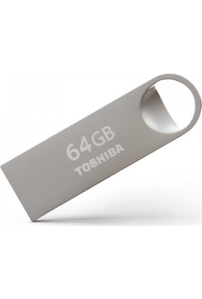 Toshiba Owahri 64GB USB 2.0 Metal Flash Bellek THN-U401S0640E4