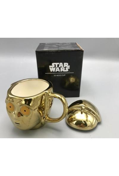 Melek Store Star Wars C-3po 3D Kupa