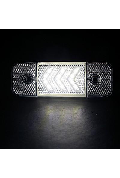 Ledshop Side Marker LED Lamba 12 - 24 V 12'li LED 10 Adet