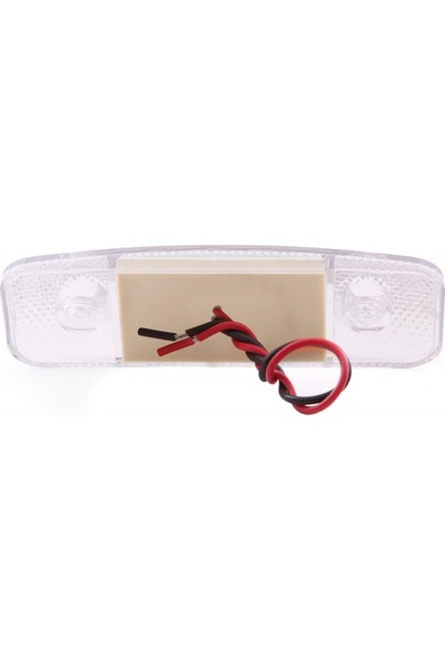 Ledshop Side Marker Lamba 12 - 24 V 9'li LED 5 Adet