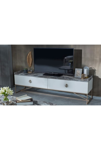 Evmoda Mobilya - Local Gold Modern Tv Ünitesi