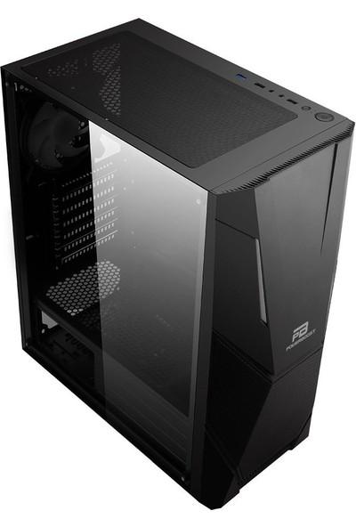 Power Boost VK-P3303B 500W USB 3.0 ATX, ARGB Fan & Stirp Siyah Kasa