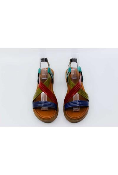Papuccu Multi Çok Renkli Kadın Sandalet GZS20Y97322