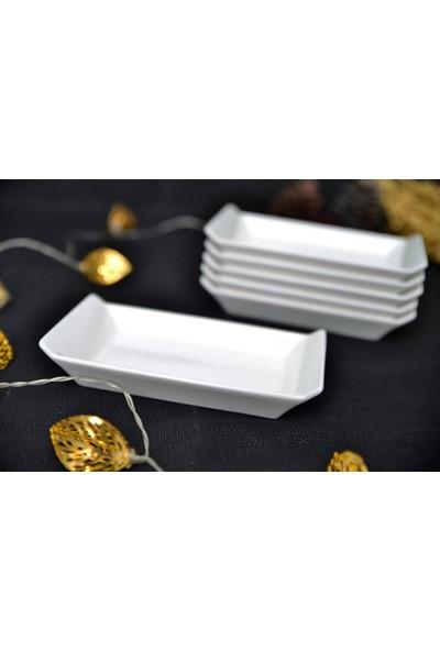 Acar Porselen 6 Lı Küçük Ara Servis Tabak