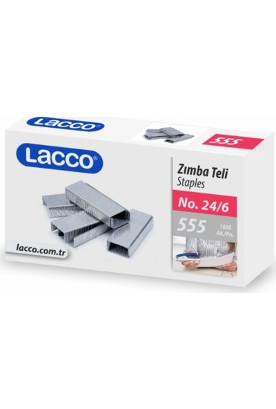 Lacco Zımba Teli 24/6 10'lu Paket