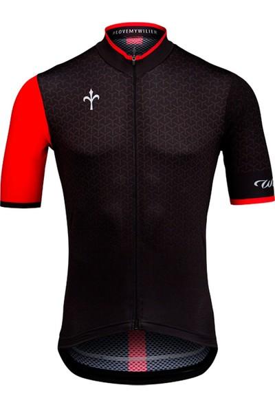 Wilier Bisiklet Forması Maglıa Grınta Nera S Siyah