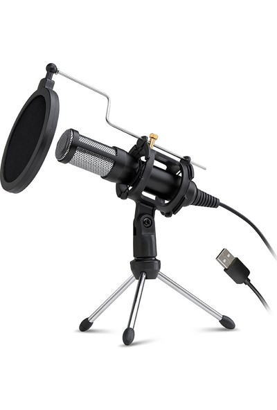 Dexim Elite Streaming USB Mikrofon For Pc And Laptop