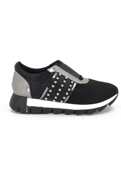 Beety Siyah Kadın Günlük Ayakkabı TS-501