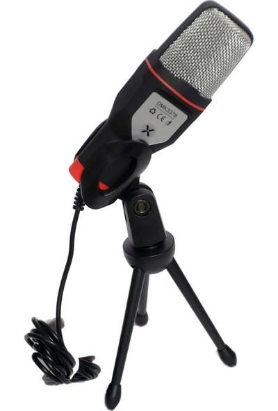 Dexim DMK3378 Bona PC/Laptop Uyumlu USB Mikrofon Siyah