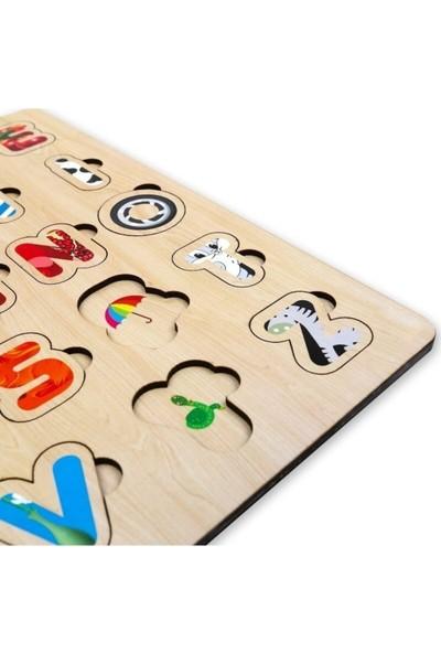 Wooden Toys Türkçe Eğitici Alfabe Yapboz