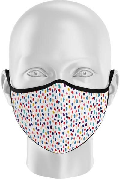 İpeks Çocuk | Gümüş Iyonlu Yıkanabilir Maske - Ipeks, Rengarenk