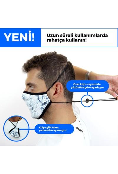 İpeks Gümüş Iyonlu Yıkanabilir Maske - Ipeks, Rengarenk