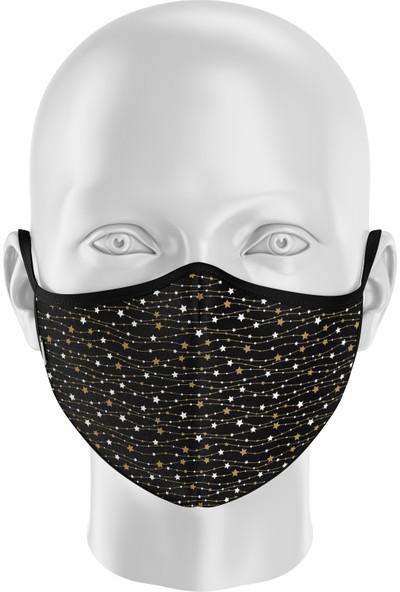 İpeks Çocuk | Gümüş Iyonlu Yıkanabilir Maske - Ipeks, Yıldız