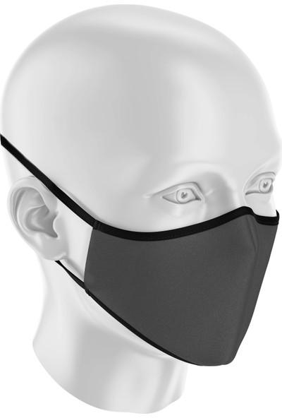 İpeks Gümüş Iyonlu Yıkanabilir Maske - Ipeks, Antrasit