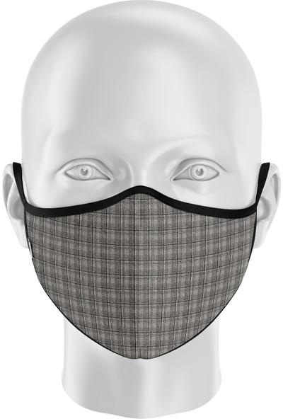 İpeks Gümüş Iyonlu Yıkanabilir Maske - Ipeks, Ekose