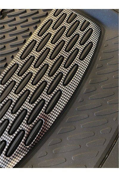 Sapphire Fiat Regeta Uyumlu Universal Derin Havuzlu Paspas Krom Karbon
