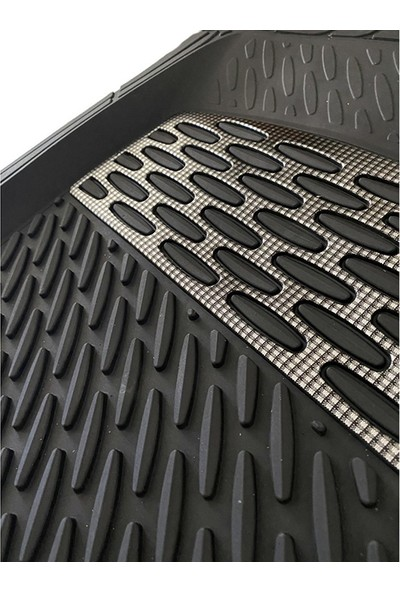 Sapphire Mazda 5 Uyumlu Universal Derin Havuzlu Paspas Krom Karbon