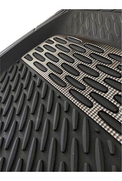 Sapphire Mercedes 500 Uyumlu Universal Derin Havuzlu Paspas Krom Karbon