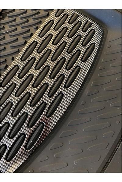 Sapphire Volvo S60 Uyumlu Universal Derin Havuzlu Paspas Krom Karbon