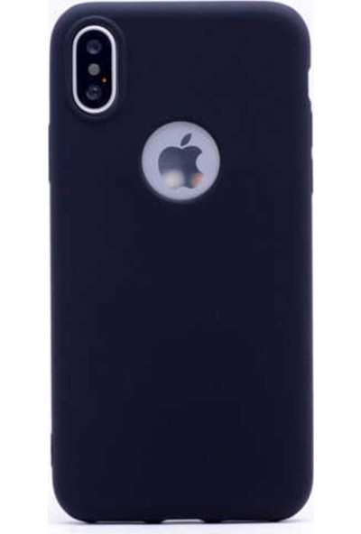 Entec Iphone x Xs Kılıf Thin Mat Silikon Kapak