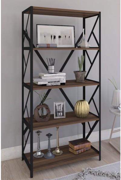 Hira Home Concept Metal Kitaplık 5 Raflı Kitaplık