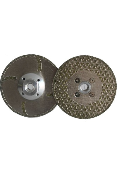 Elkay Elektrolize Tek Pah Flaşlı Mermer Testere- 180 mm