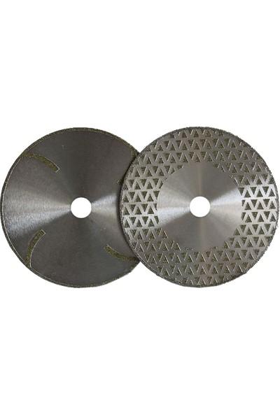 Elkay Tek Pah Düz Elektrolize Mermer Testere- 180 mm