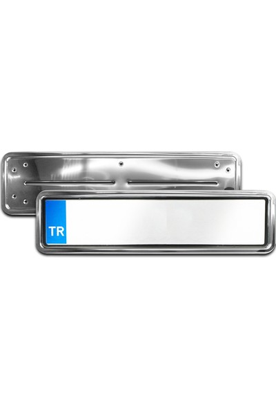 İntakrom Ford Transit Krom Plakalık - Hummer Tip 2 Adet