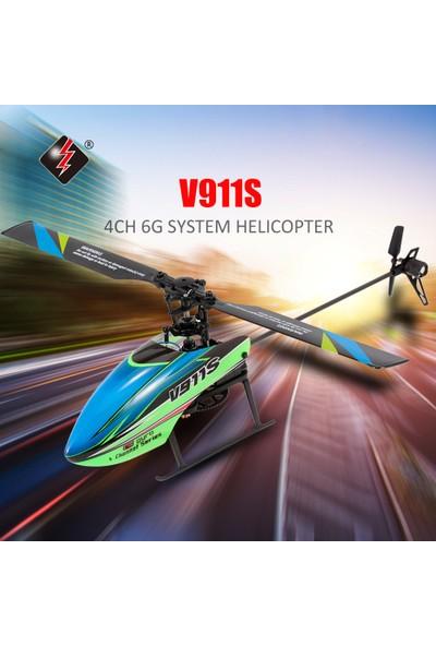Wltoys V911S 4ch 6g Olmayan Kanatçık Rc Helikopter (Yurt Dışından)