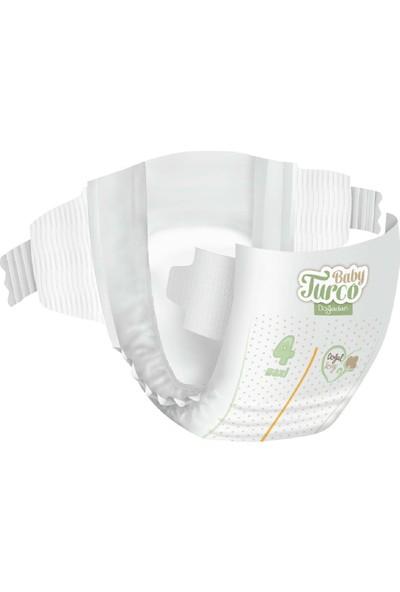 Baby Turco Doğadan 4 Numara Maxi 150'LI 3*60'LI Islak Havlu Hediyeli