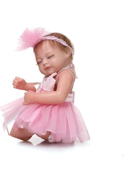 Buyfun Yeni Doğan Bebek Bebek Banyo Tam Silikon Oyuncak