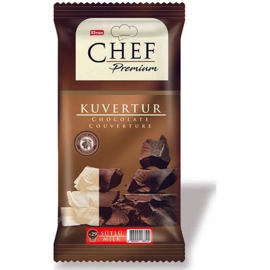 Elvan Chef %29 Sütlü Mini Kuvertür 200 gr