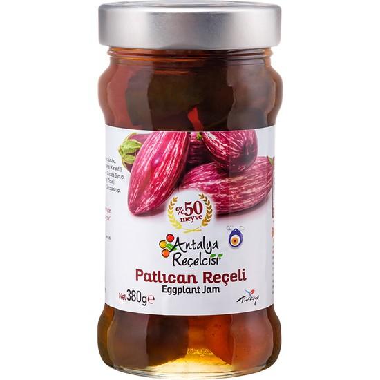 Antalya Reçelcisi Patlıcan Reçeli %50 Meyve Klasik Seri 380 Gr