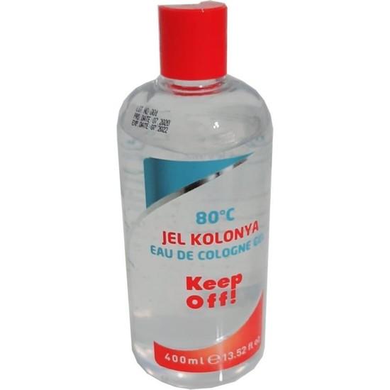 Mamazade Keep Off Jel Kolonya 400 ml 80 Derece