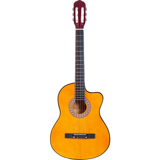 Madrıd MCG-120C Nat Cutaway 39 Klasik Gitar Tam Boy
