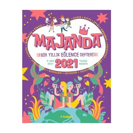 Tudem Yayınları Majanda 2021 Bir Yıllık Eğlence Defteri