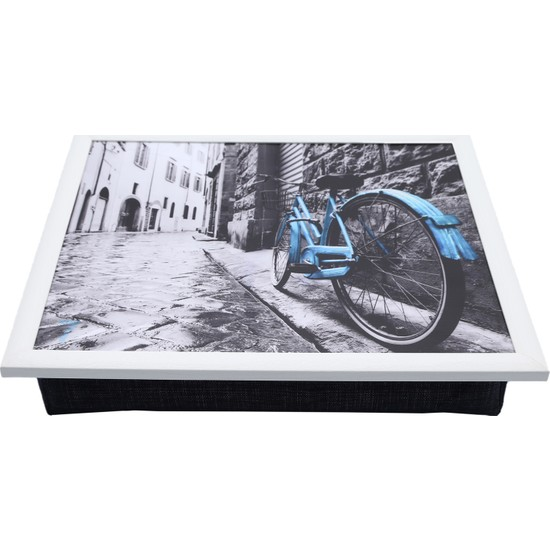 Yedi Home & Decor Keyif Tepsisi Blue Bike