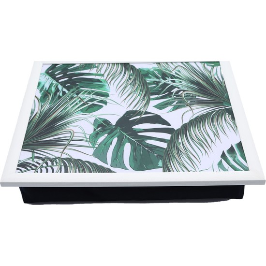 Yedi Home & Decor Keyif Tepsisi Green Monstera