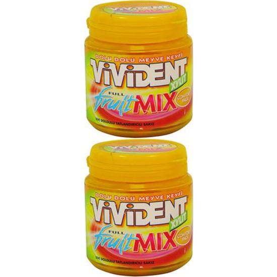 Vivident Mega Comfort Full Fruit Mix 104 gr 2'li