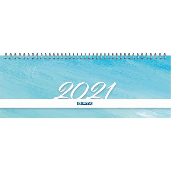 Gıpta Haftalık Masa Takvimi 12X33 -2021