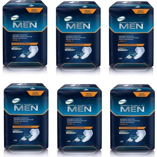 Tena Erkek Mesane Pedi Level 3 120 Adet Yeni Paket