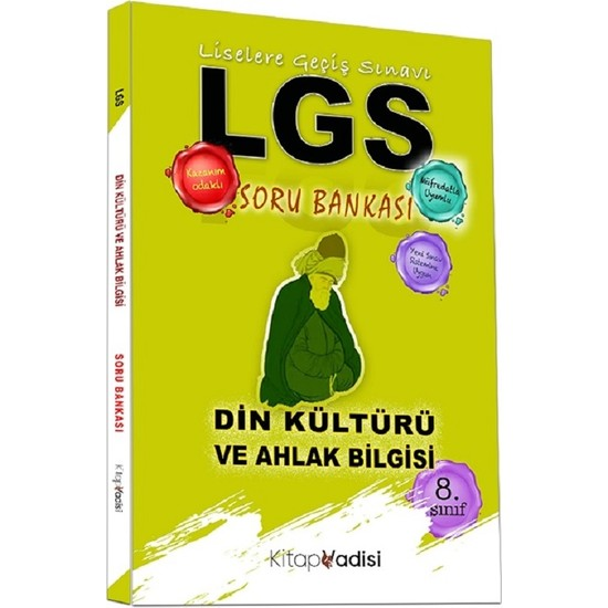Kitap Vadisi LGS Din Kültürü ve Ahlak Bilgisi Soru Bankası Ekitap İndir | PDF | ePub | Mobi