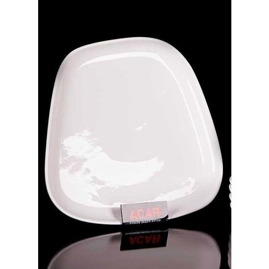 Acarlar SER-010353 Porselen Yemek Tabak