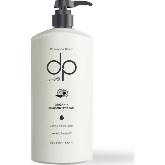 DP Organik Hindistan Cevizi Yağı Saç Bakım Kremi 500 ml
