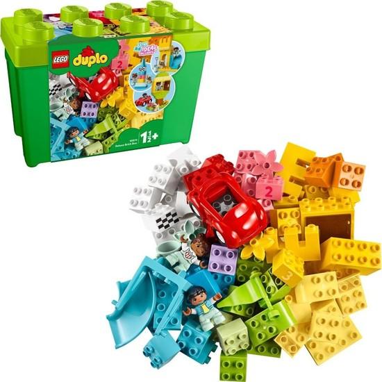 LEGO DUPLO Classic 85 Parçalık Yapım Parçaları Lüks Yapım Kutusu (10914) - Çocuk Oyuncak Yapım Seti