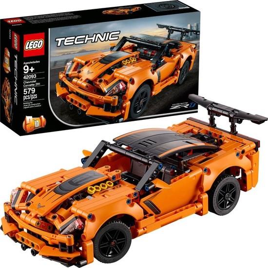 LEGO Technic 42093 Chevrolet Corvette ZR1 Yapım Seti (579 Parça) - Çocuk ve Yetişkin için Koleksiyonluk Oyuncak Araba