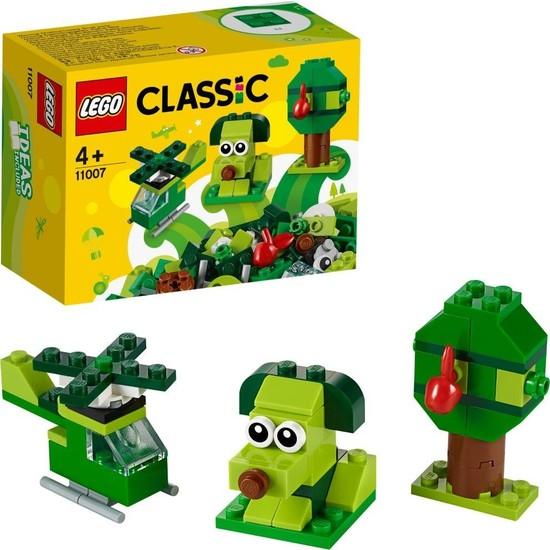LEGO® Classic 11007 Yaratıcı Yeşil Yapım Parçaları