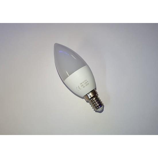 Foblight 7 Watt E14 Duylu LED Mum Ampul 10'lu Paket